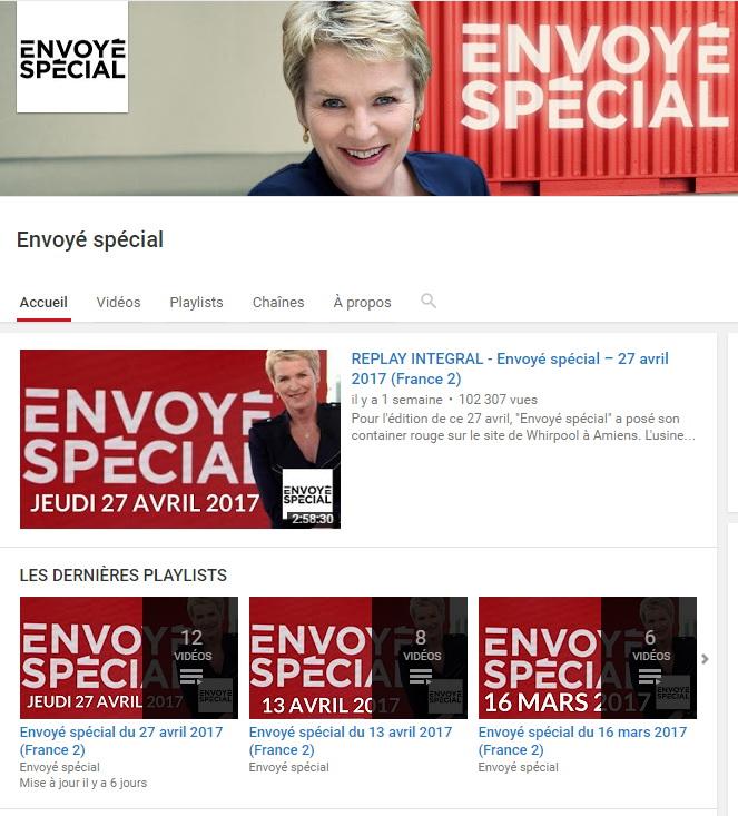 ftv youtube envoye special f2rprod